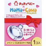 CHUCHU BABY Silicone Dot Mamacawa Wide Caliber 1pc [4973210993645]